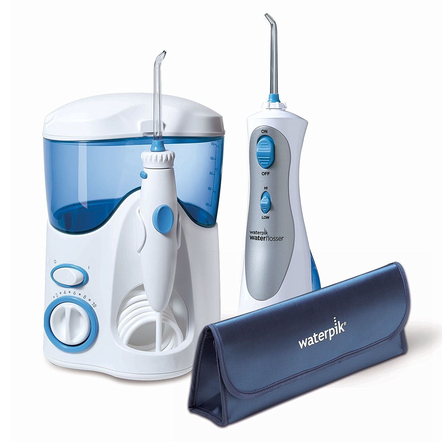 Waterpik Ultra Water Flosser Combo, Model WP-100 And WP-450